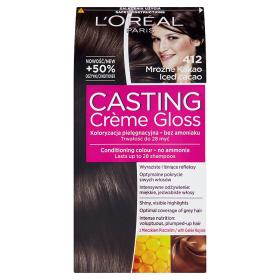 L'Oréal Paris Casting Crème Gloss Farba do włosów 412 Mroźne kakao